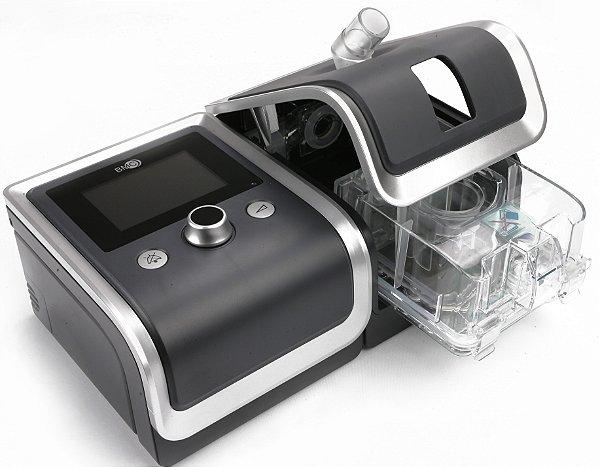 Kit BIPAP RESmart T-25T Gll com Umidificador e Máscara Nasal FeaLite Pillow - Tamanhos P, M e G