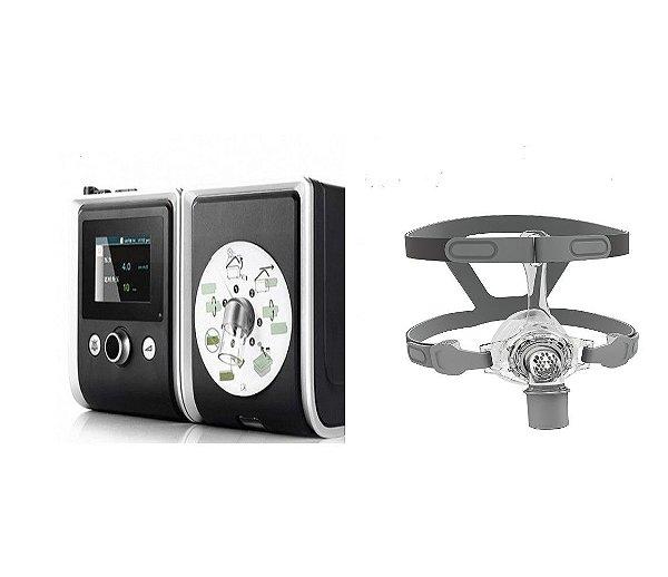 Kit CPAP Auto RESmart Gll, modelo E-20A-H-O com Umidificador e Máscara Nasal N5