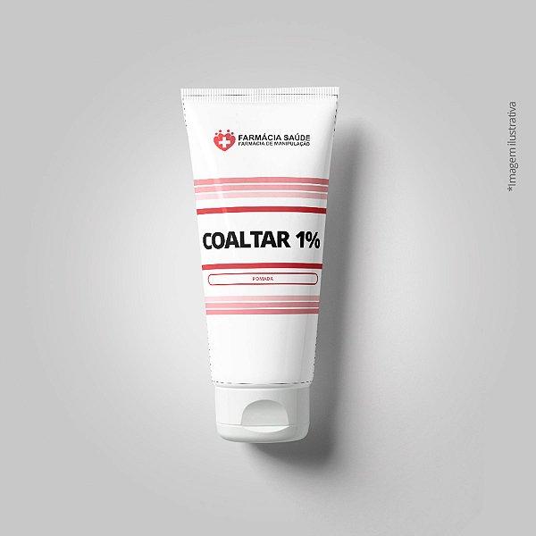 Coaltar 1% - 100g - Pomada para Psoríase de pele