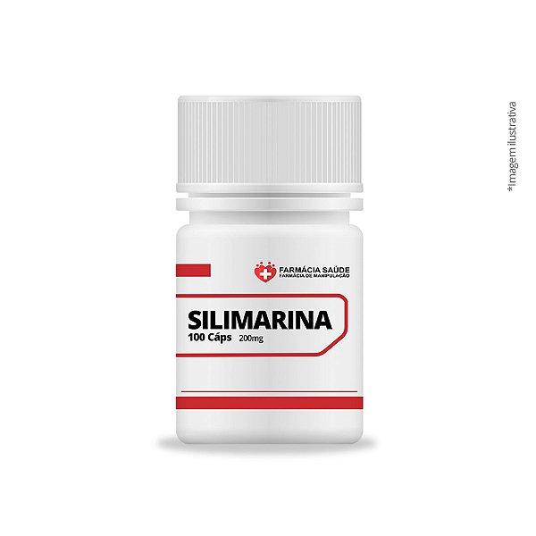 Silimarina - 200mg -  100 cápsulas - Anti Hepatotóxico |FS