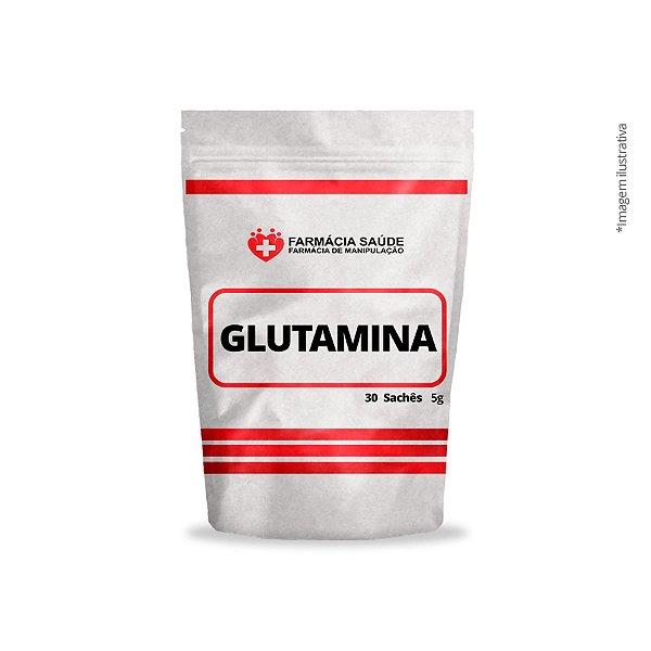Glutamina 5g 30 sachês - Proteção parede gástrica