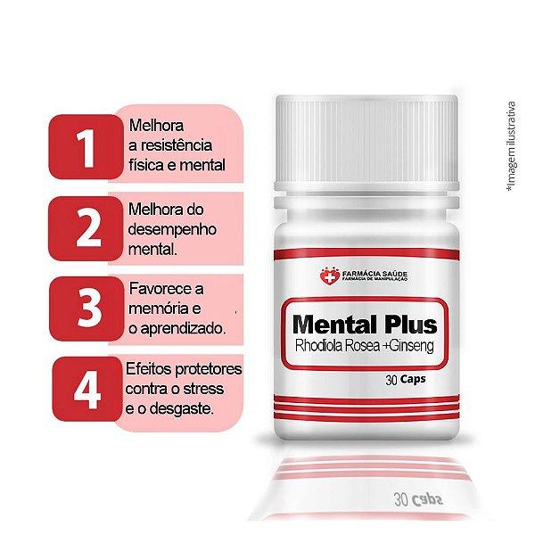 SupleMental Plus 60 cápsulas - Estimula ativação fisica e menta