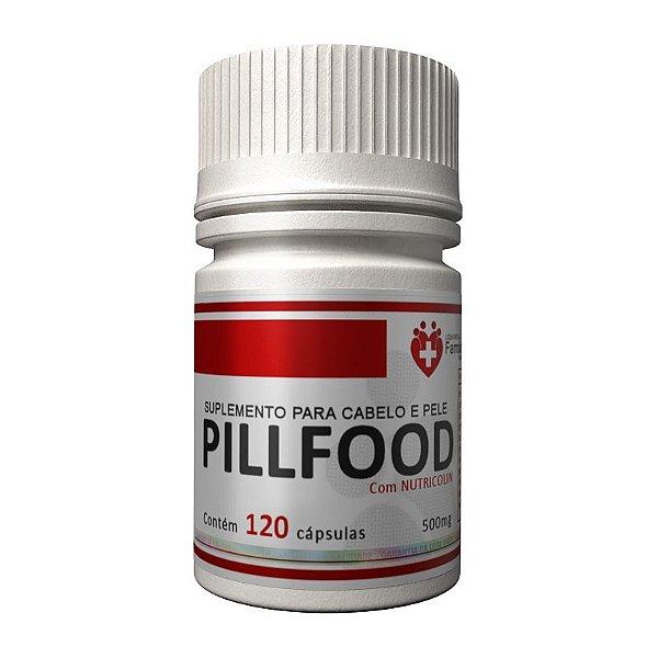 Pill Food Turbinado com Nutricolin- Cabelo pele unha
