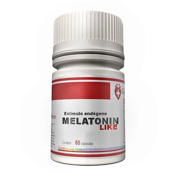 MelatoninaLIKE - 60 cápsulas - Estimula a produção endógena