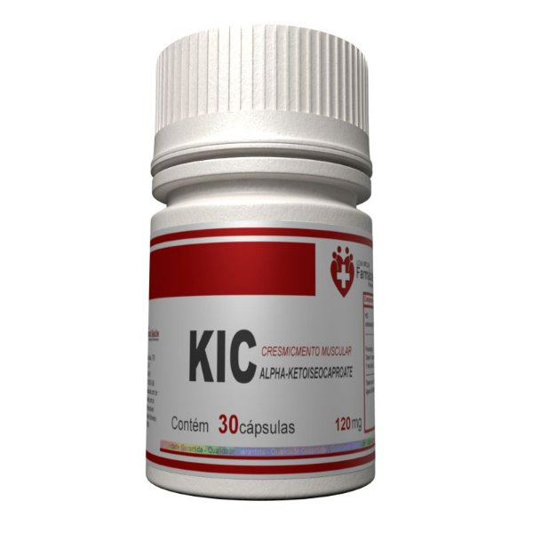 KIC 120mg 30 cápsulas - Alpha-Ketoiseocaproate