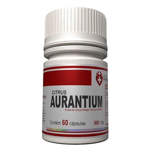 Citrus Aurantium 500mg 60 cápsulas - Laranja Amarga extrato