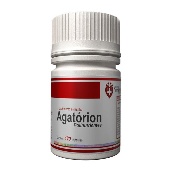 Agatórion Polinutrientes 120 cápsulas - vitaminas e minerais