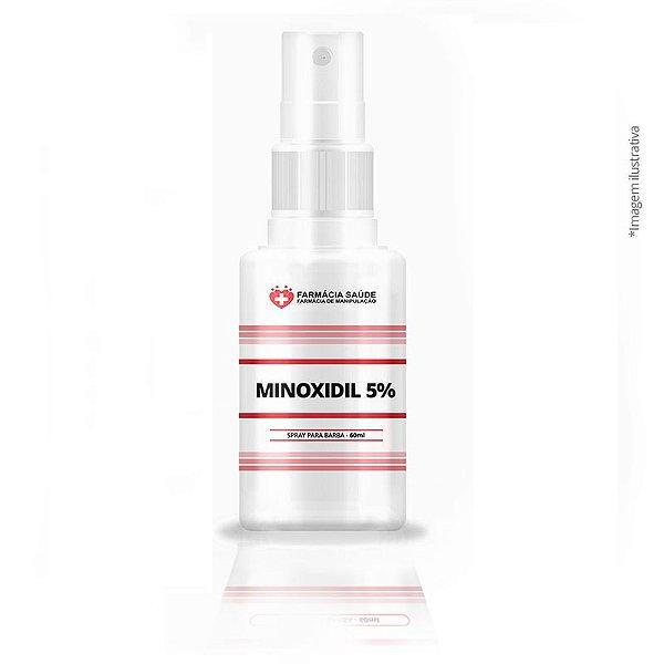Minoxidil 5% Loção em Spray 60ml
