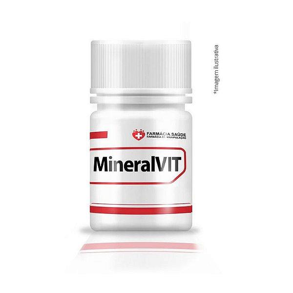 MineralVIT - 60 cápsulas - polivitaminico e multiminerais  FS