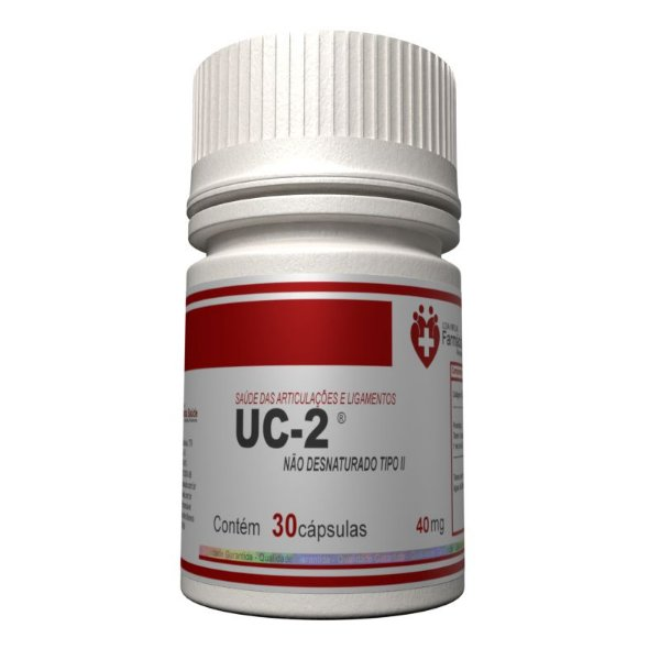 UC2 40mg 30 cápsulas Autêntico - Colágeno tipo 2