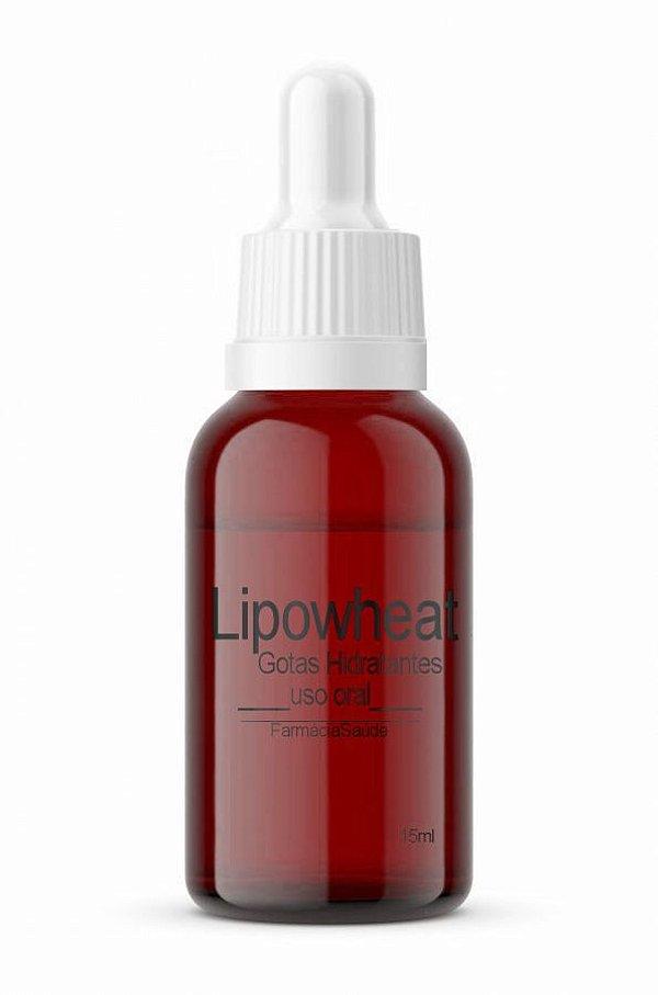 Lipowheat Gotas -15ml   Hidratação Completa