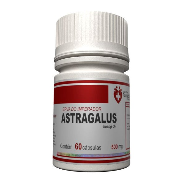 Astragalus 500mg  60 cápsulas - Aumento do Vigor