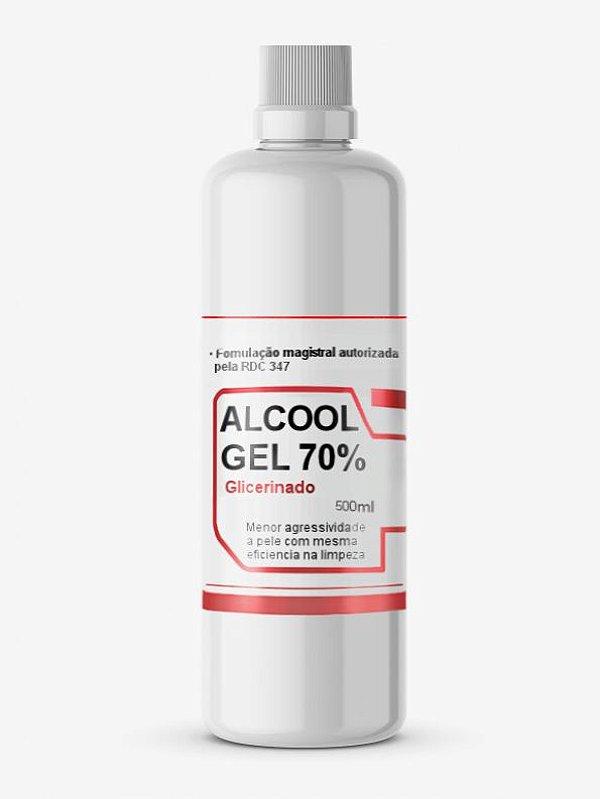 Álcool em Gel 70% Glicerinado 500ml