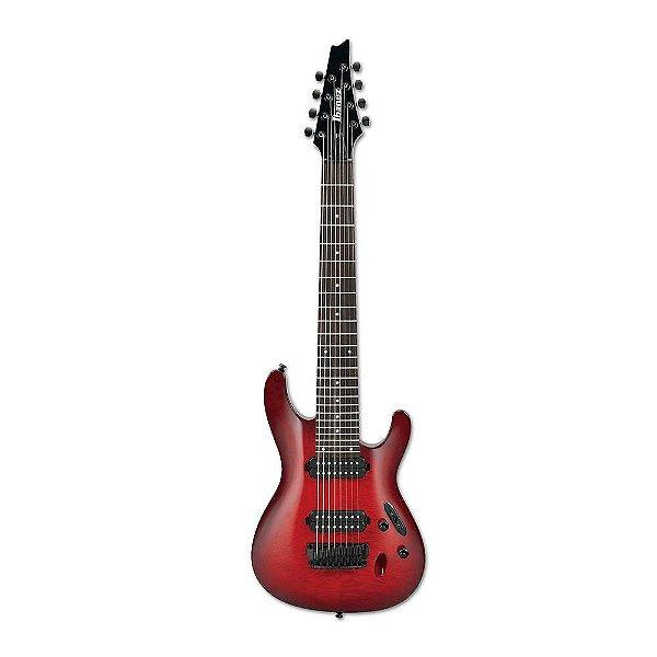 Guitarra Original Ibanez S 8 QM TRB