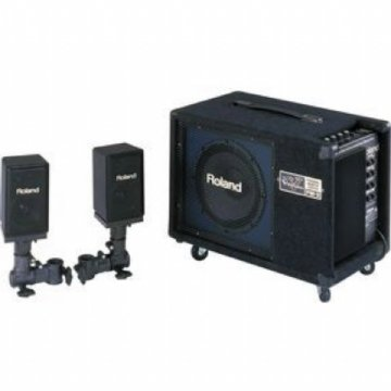 Amplificador Roland P/bat Eletronica Pm 3