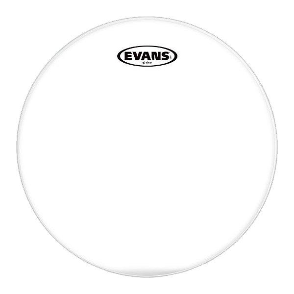 """Pele Transparente Caixa 14"""" Evans Genera G2"""