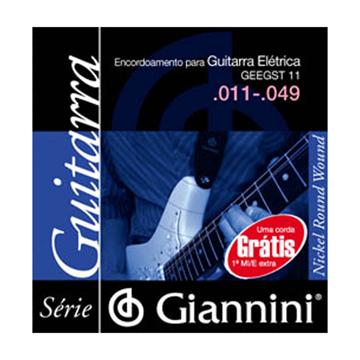 Encordoamento Giannini Guit 0.11 Geegst11