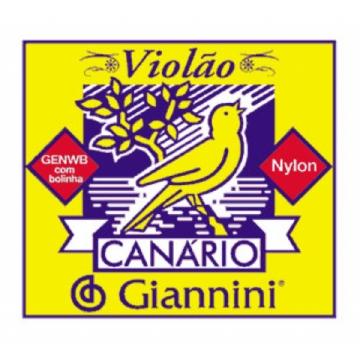 Encordoamento Giannini Violão Canario Medio Genwb