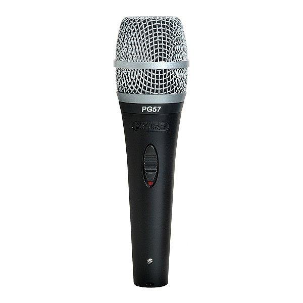 Microfone com fio Shure PG 57 XLR
