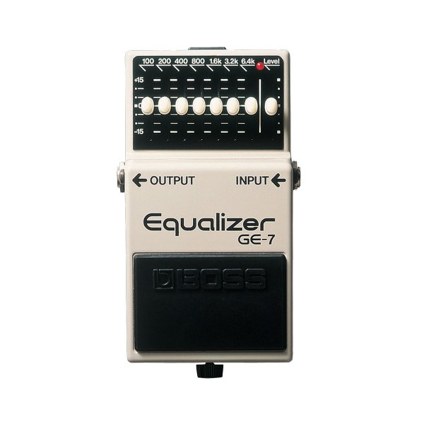 Pedal Guitarra Boss Equalizer GE 7