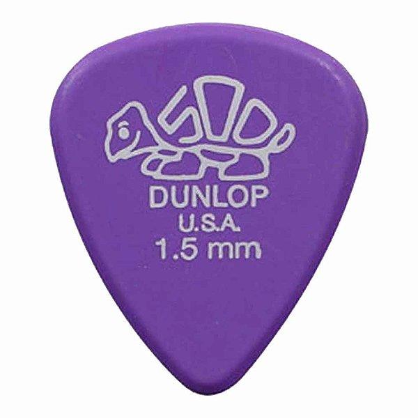 Palheta Dunlop Delrin 500 Std 1,5 Mm