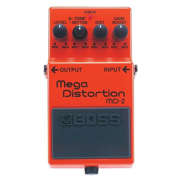 Pedal Guitarra Boss Mega Distortion MD 2