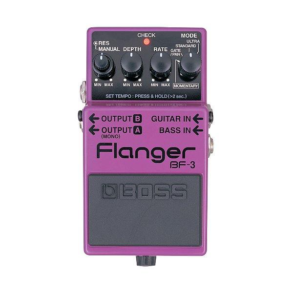 Pedal Guitarra Boss Flanger BF 3