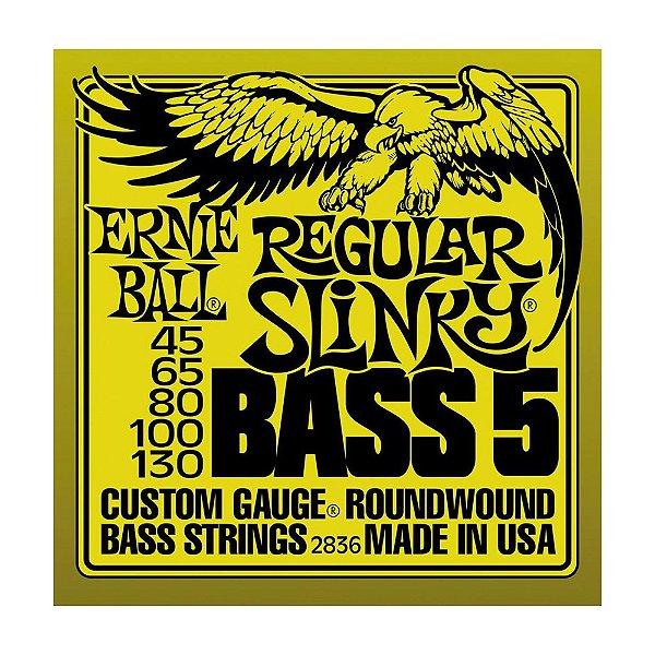 Encordoamento Ernie Ball C Baixo 5c 0.45 2836