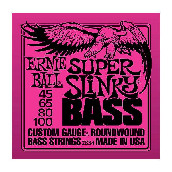 Encordoamento Ernie Ball Contrabaixo 4 C 0,45 2834