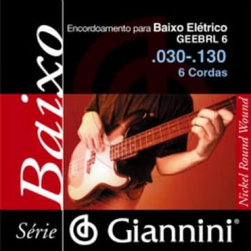 Encordoamento Giannini C Baixo 6c 0.30 Geebrl6