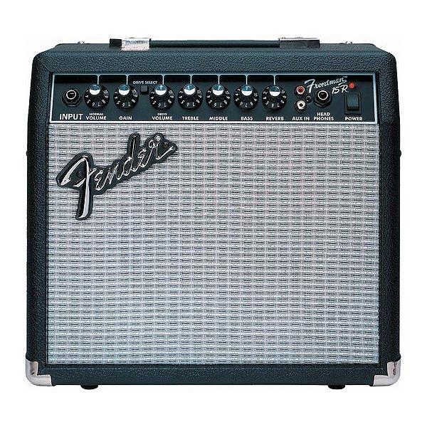 Combo Fender Guitarra Frontman 15r