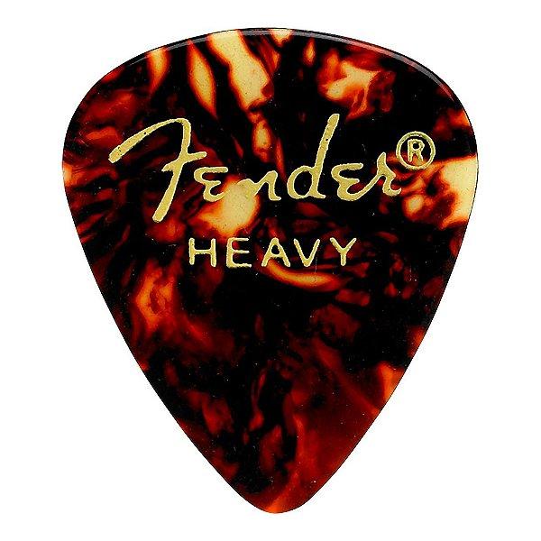 Palheta Fender Shell Heavy Tradicional