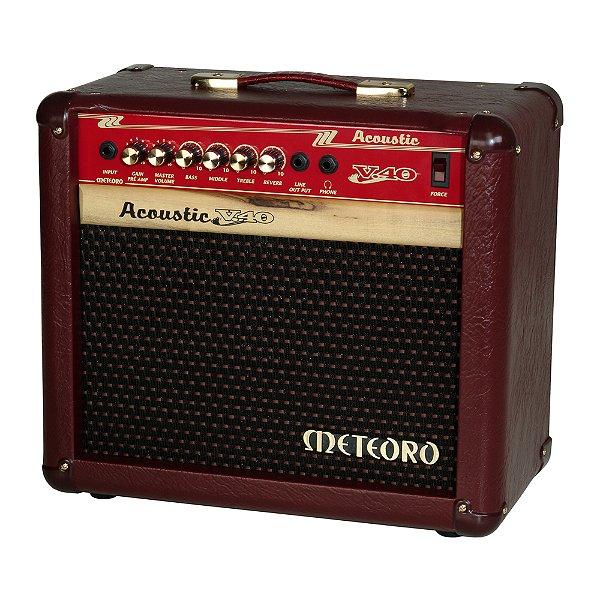 Combo Violão Meteoro Violão Acoustic V 40