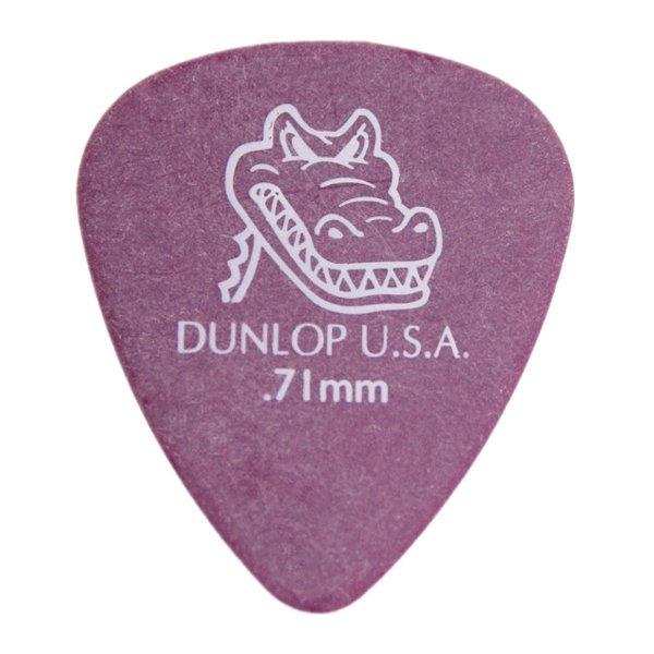Palheta Dunlop Gator Grip 0,71 Mm