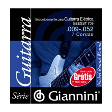 Encordoamento Giannini Guit 7c 0.09 Geegst 709