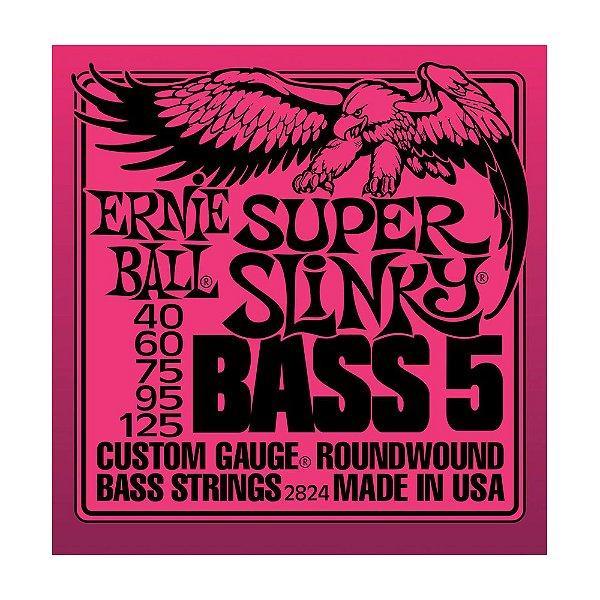 Encordoamento Contrabaixo Ernie Ball 5 C 0,40 2824