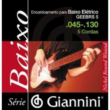 Encordoamento Giannini C Baixo 5c 0.45 Geebrs5