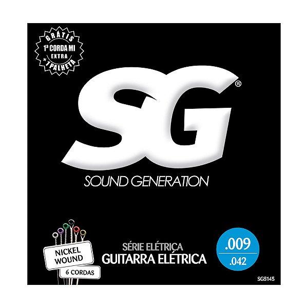 Encordoamento SG Guitarra 0.09 SG5145