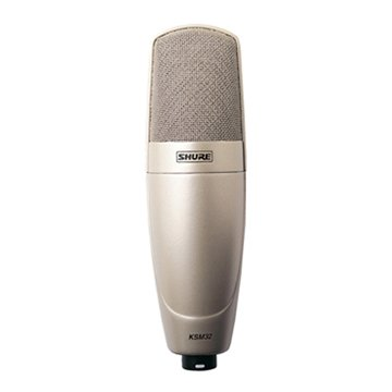 Microfone com fio Estúdio Shure KSM 32 SL