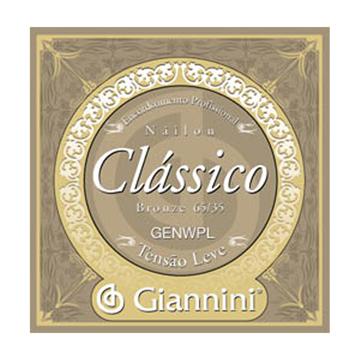 Encordoamento Giannini Violão Leve Genwpl