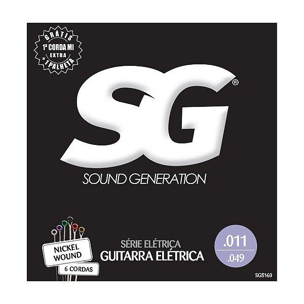 Encordoamento Guitarra 0.11 SG 5160