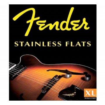 Encordoamento Fender Guit 0.12 Stainless Flats
