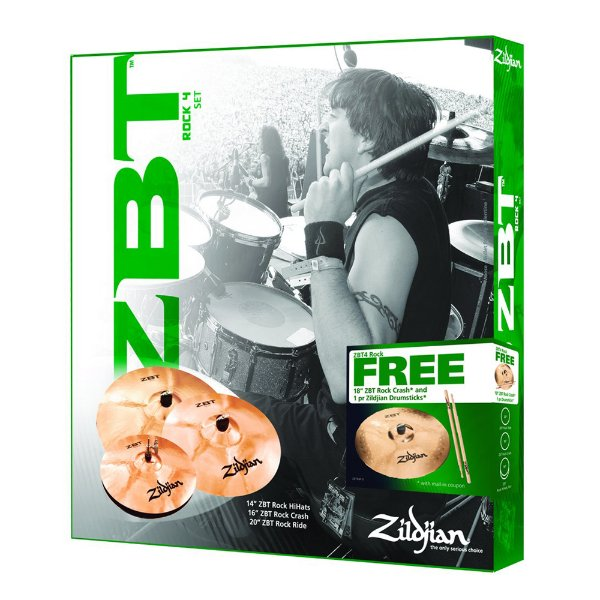 Set Zildjian ZBT 4 Rock 14/14/16/20
