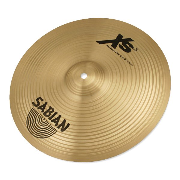 "Prato Ataque 14"" Sabian Medium Thin Crash XS 1407 B"