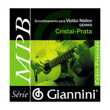 Encordoamento Giannini Violão Medio Genws