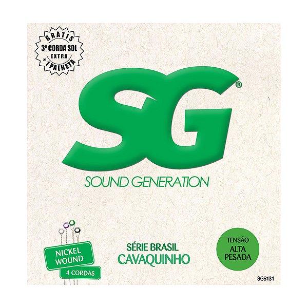 Encordoamento SG Cavaco Tensão Alta SG5131