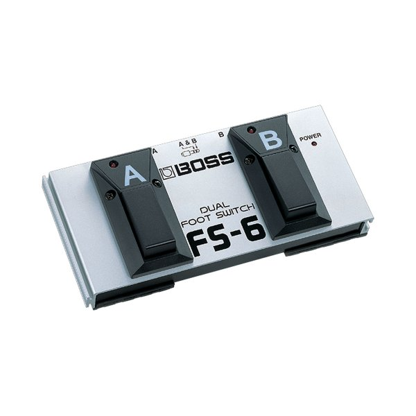 Pedal Boss Dual Footswitch FS 6