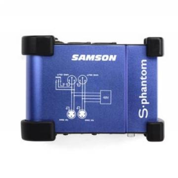 Pré-Amplificador Microfone Samson S Phanton
