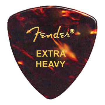 Palheta Fender Shell Extra Grossa Trad
