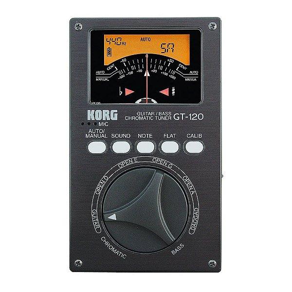 Afinador Contrabaixo/Guitarra Korg GT 120
